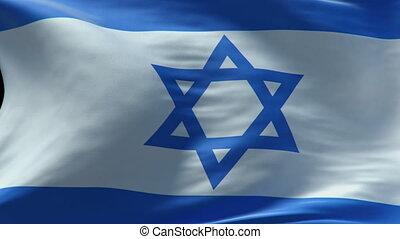 zwaaiende , israël dundoek, lus